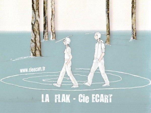 Carte postale de la Flak, réalisé par Florence Foix