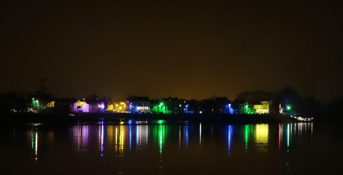 Village de Trentemoult vu de nuit