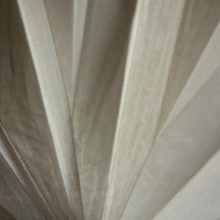 Pliage radial sur papier léger
