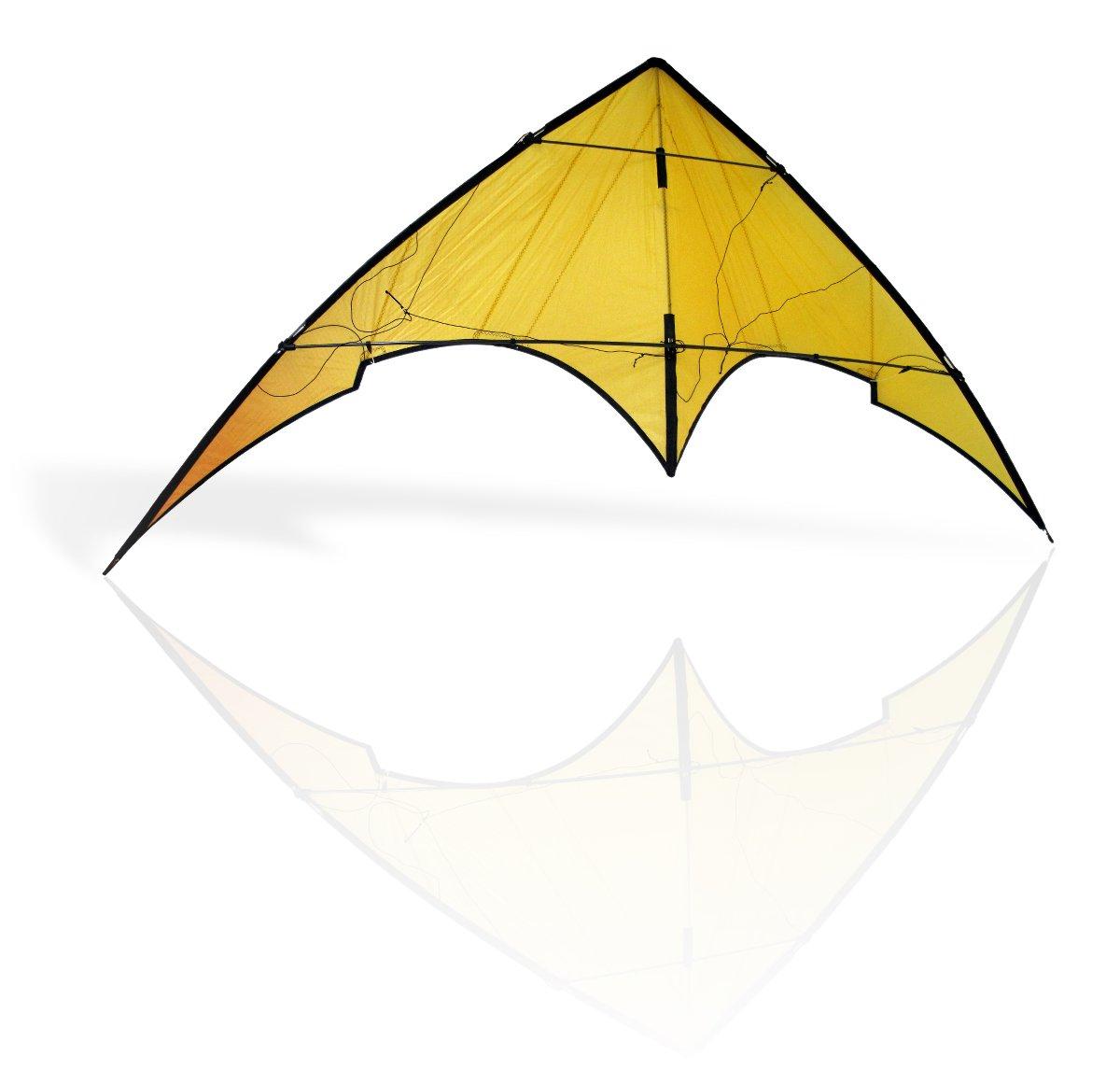 Cerf-volant jaune détouré