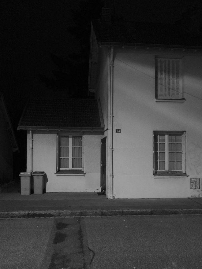 Seule maison habitée