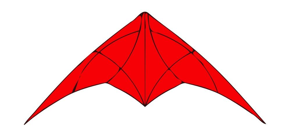 dessin d'un cerf-volant