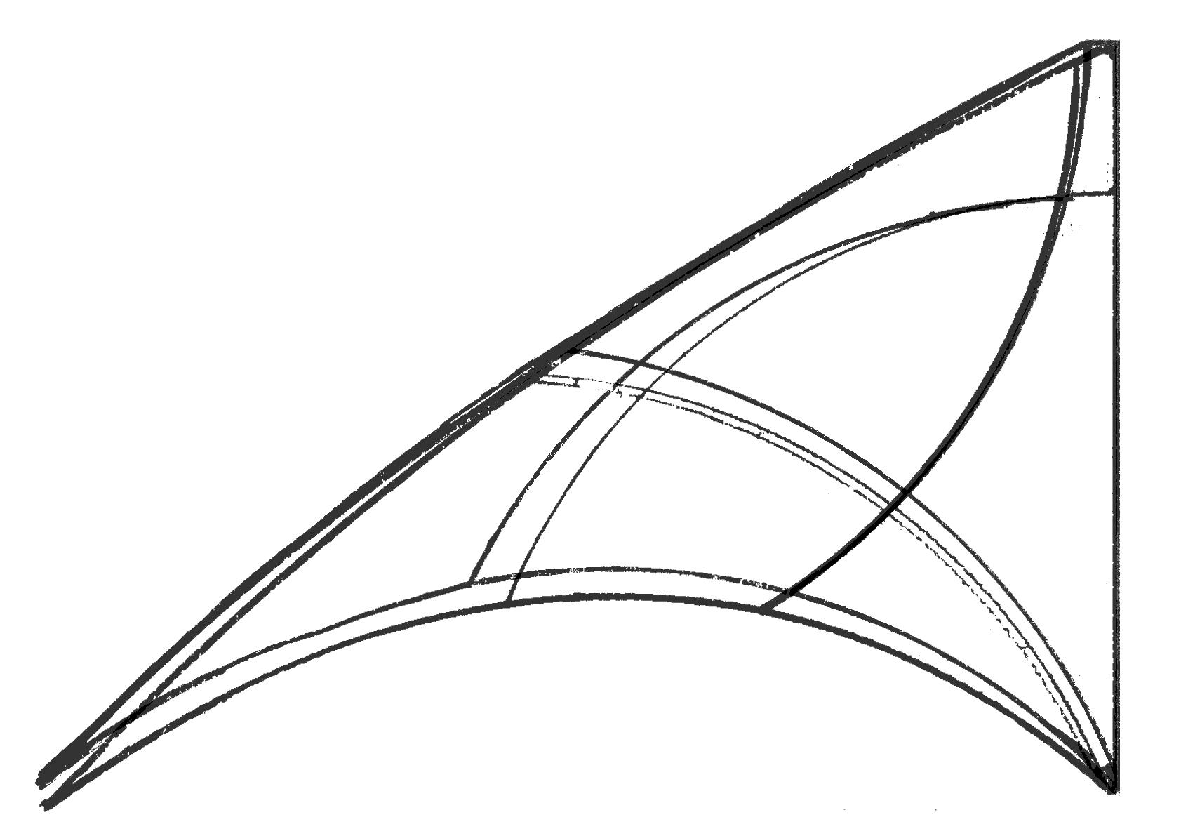 deux profils de voiles supperposées