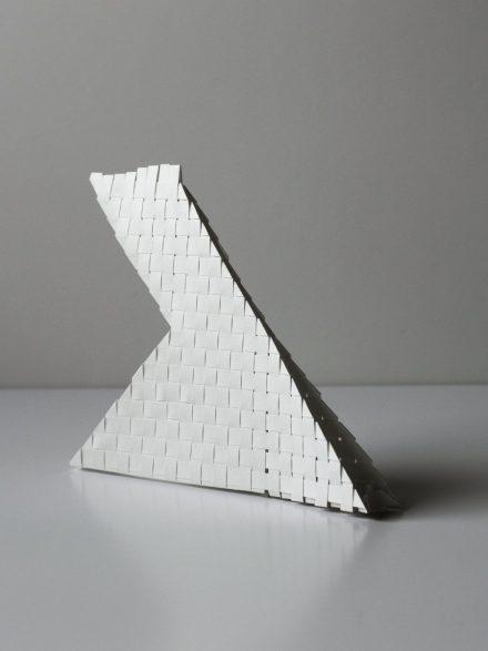 Tissage de papier en forme de Y inversé