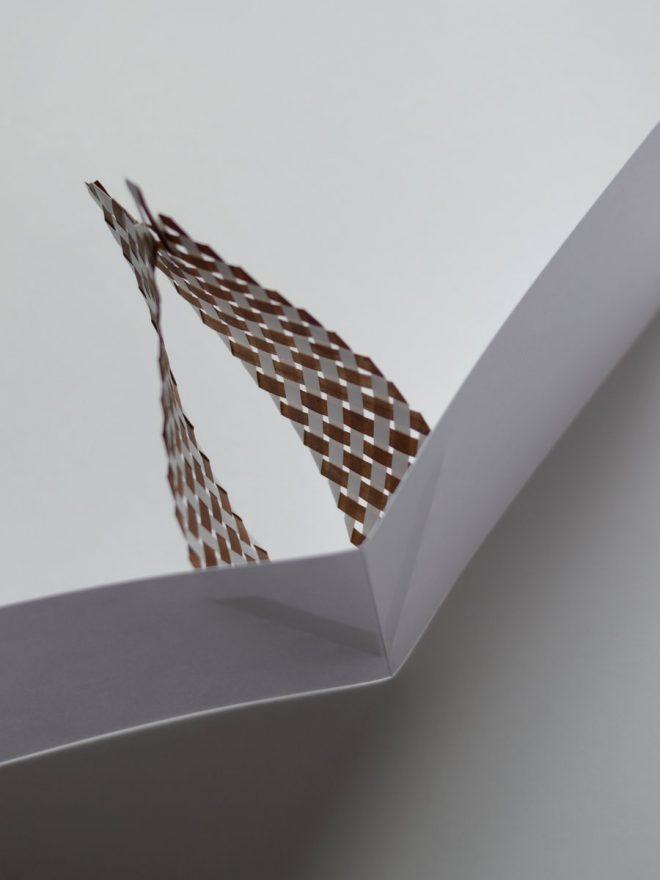 tissage de papier aérien