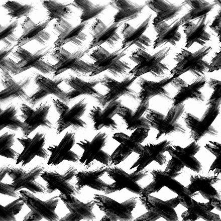 Coup de pinceaux en croix