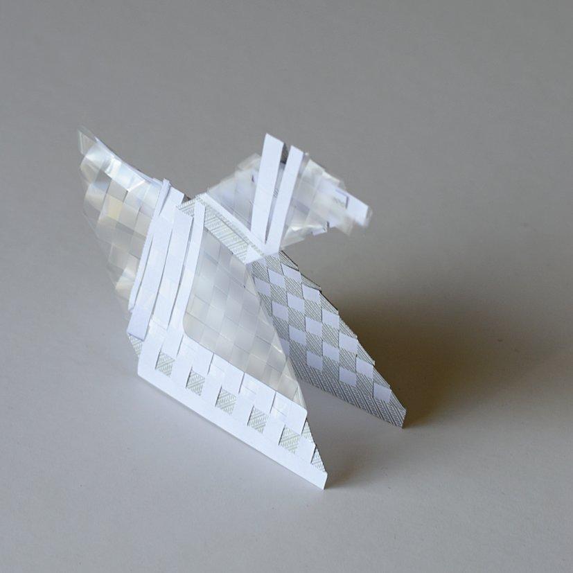 tissage d'une enveloppe