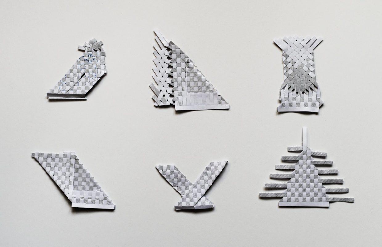 tissage graphique de lettres