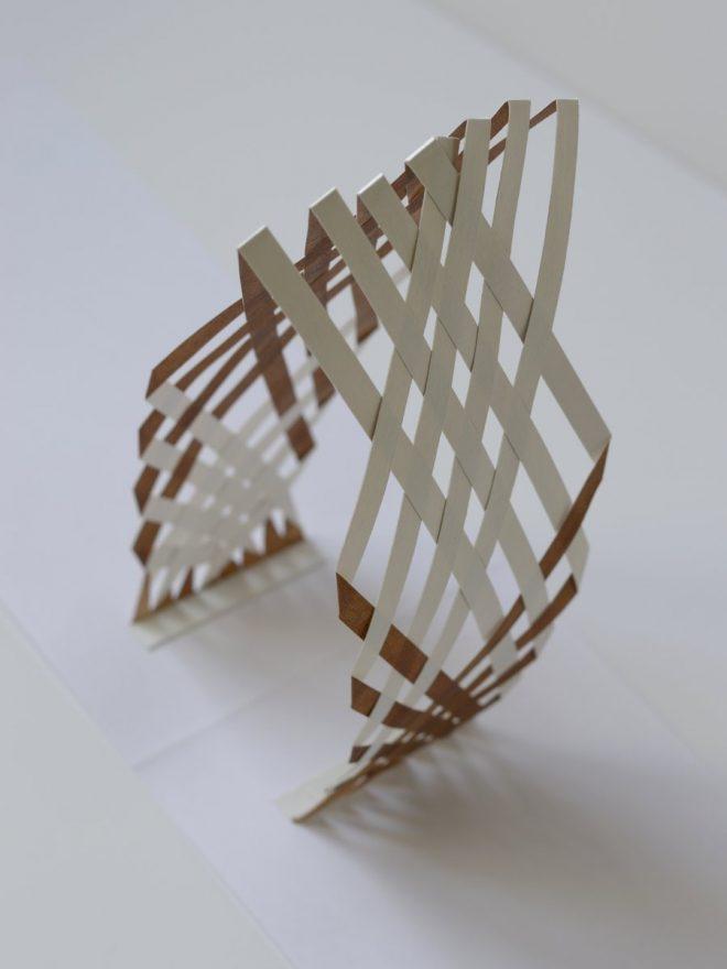 tissage de papier aéré