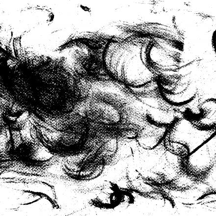 création graphique encre de chine