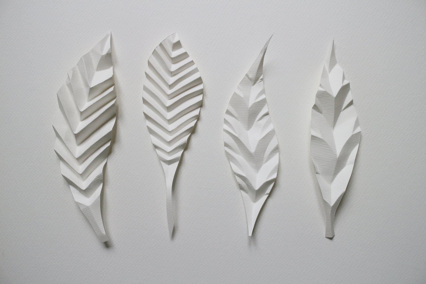 feuilles de papier pliées
