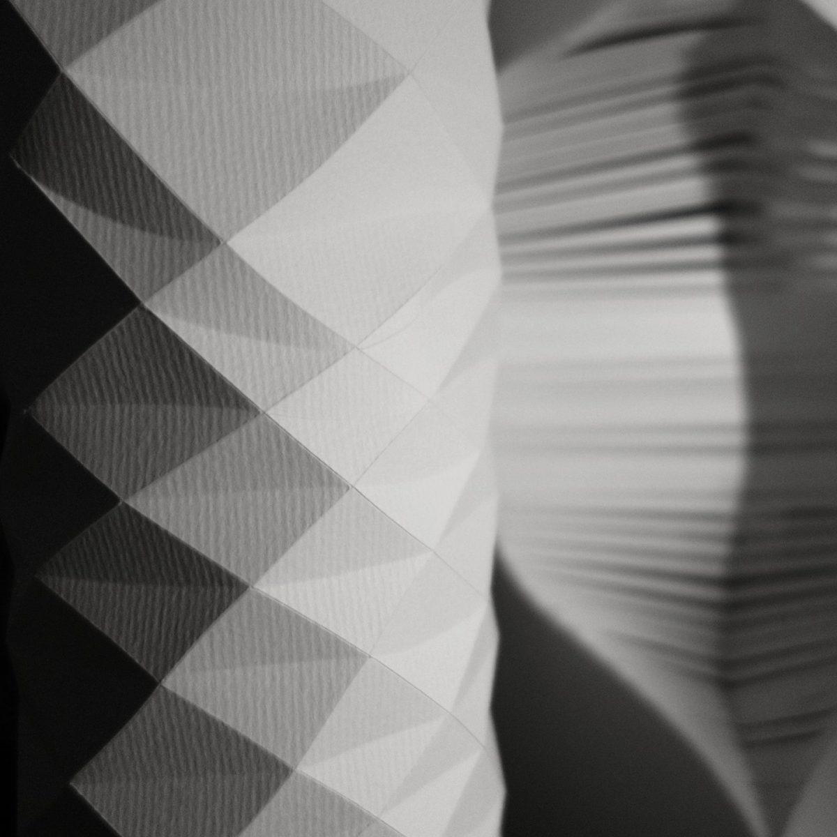 sculptures de papier