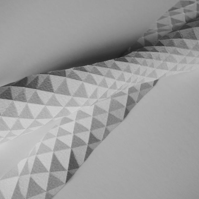 plis géométriques